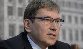 Ministr průmyslu a obchodu v demisi Tomáš Hüner