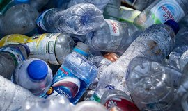 Plastový odpad vylovený z moře - ilustrační foto