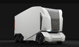 Autonomní elektrický kamion T-Pod.