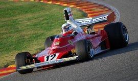 Ferrari 312T, s nímž Niki Lauda závodil ve své mistrovské sezoně 1975