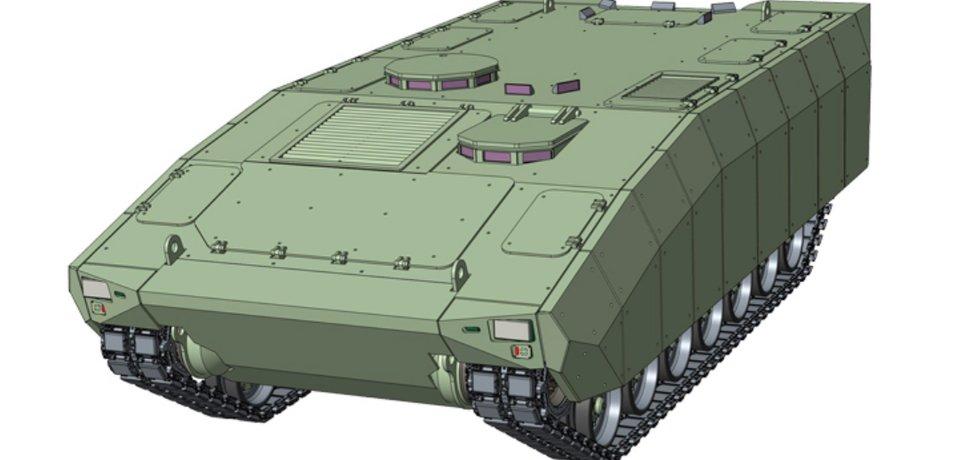 Varianta obrněného vozidla Wolfdog