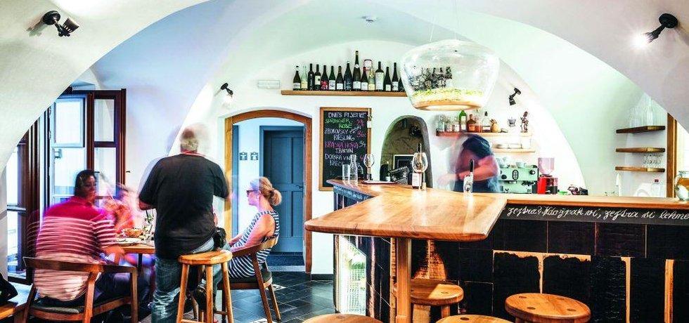 Vinný bar Thir: zázrak v Táboře