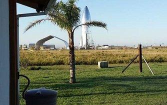 Vesnice Boca Chica je v těsné blízkosti kosmodromu Space X