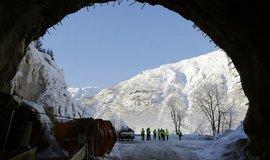 Metrostav má zkušenosti se stavbami v extrémních klimatických podmínkách. V minulosti postavit například tunel v Norsku.