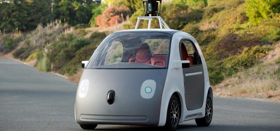 samořídící auto Google
