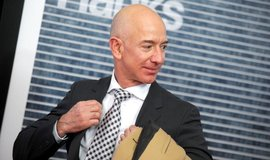 Zakladatel internetového obchodu Amazon Jeff Bezos