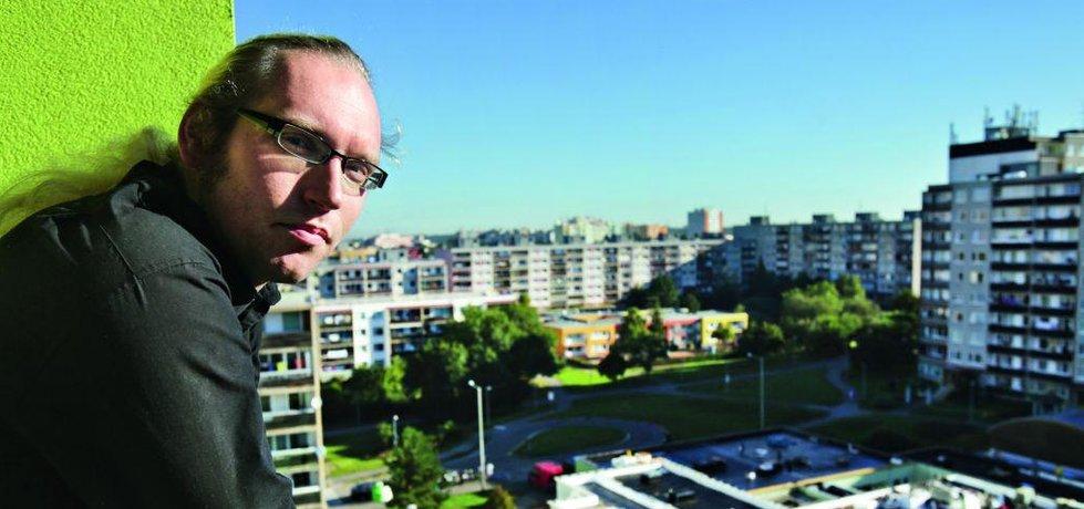 Nájemník jednoho z písnických bytů Ondřej Václavík (Autor: Hynek Glos, Euro)