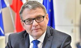 Ministr zahraničních věcí, místopředseda ČSSD a její volební lídr Lubomír Zaorálek