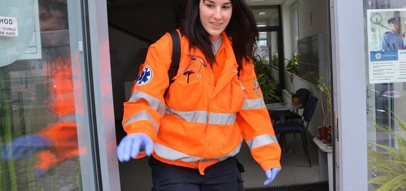 Bc.Jana Smutná, záchranářka, Zdravotnická záchranná služba hl. m. Prahy
