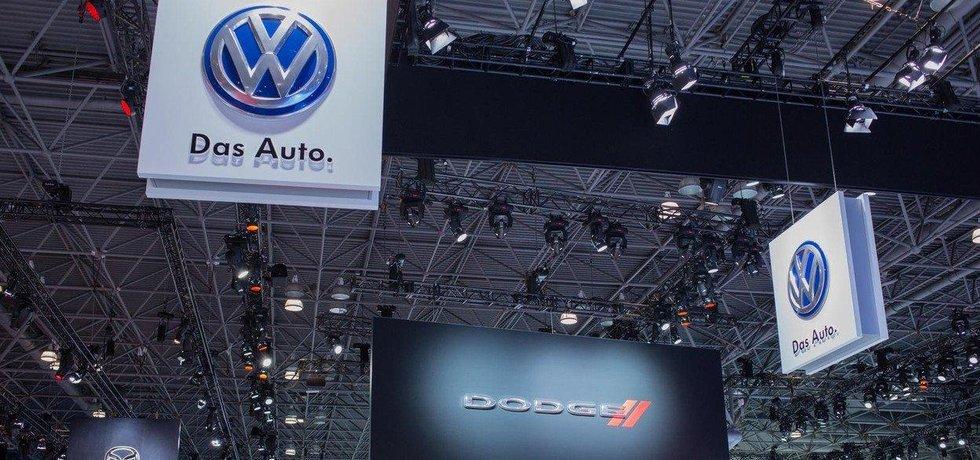 Volkswagen na americkém autosalonu