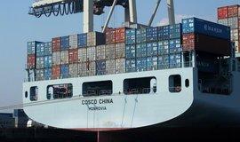 Námořní kontejnerová přeprava, ilustrační foto