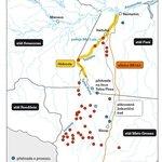 Plánovaná vodní cesta Hidrovia