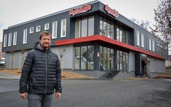 Spolumajitel kaváren CrossCafe Martin Lomický