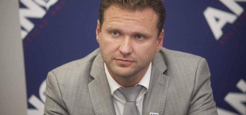 Šéf Sněmovny Radek Vondráček (ANO)