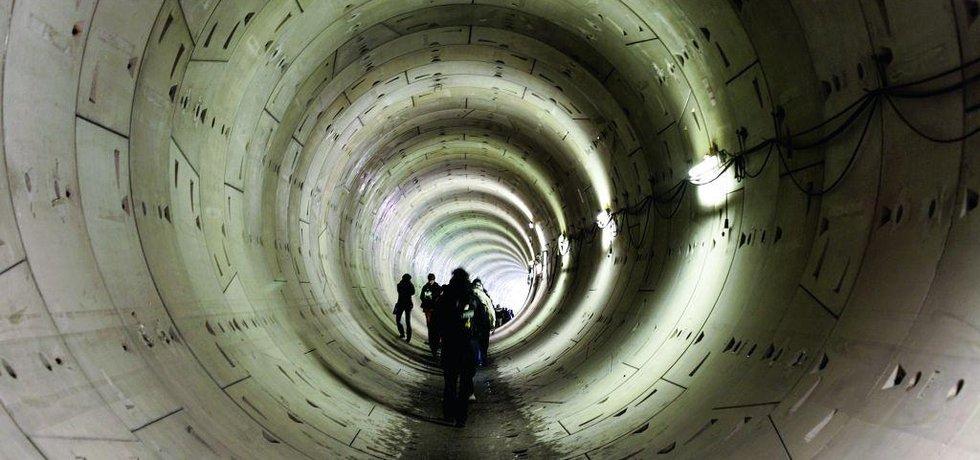 Metro ve výstavbě