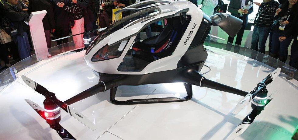 Bezpilotní dron eHang 184 určený pro přepravu osob