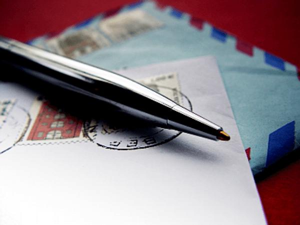 dopisy, pero