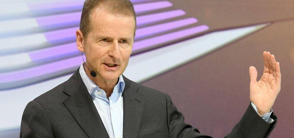 Herbert Diess by ve VW měl řídit nově vytvořenou divizi, která bude zahrnovat rovněž značky Škoda a Seat