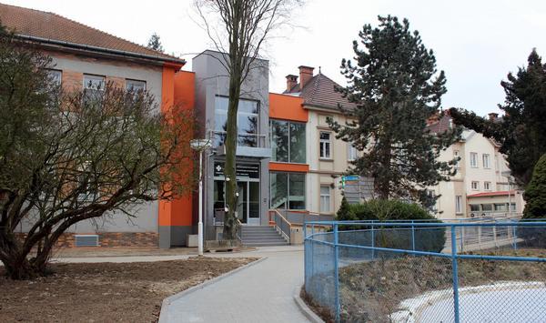 Nemocnice Přerov - zrekonstruovaný pavilon radiodiagnostiky