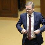 Předseda ODS Petr Fiala