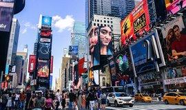 Times Square v New Yorku, ilustrační foto