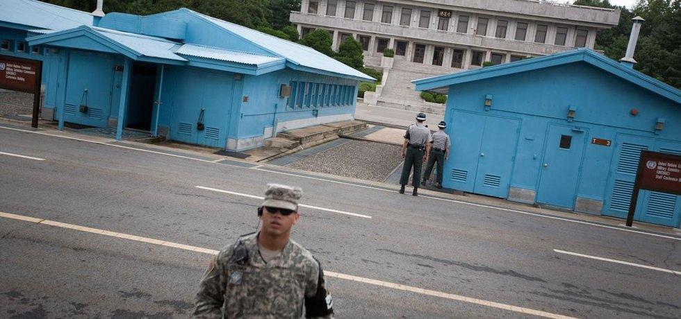 Demilitarizovaná zóna mezi KLDR a Jižní Koreou