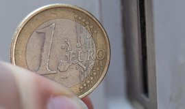 Mince v hodnotě jedno euro, ilustrační foto