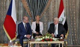 Sobotka v Bagdádu jednal s premiérem i s prezidentem