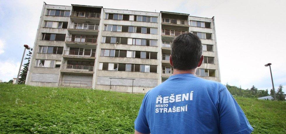 Litvínov nechá zbourat paneláky na sídlišti Janov