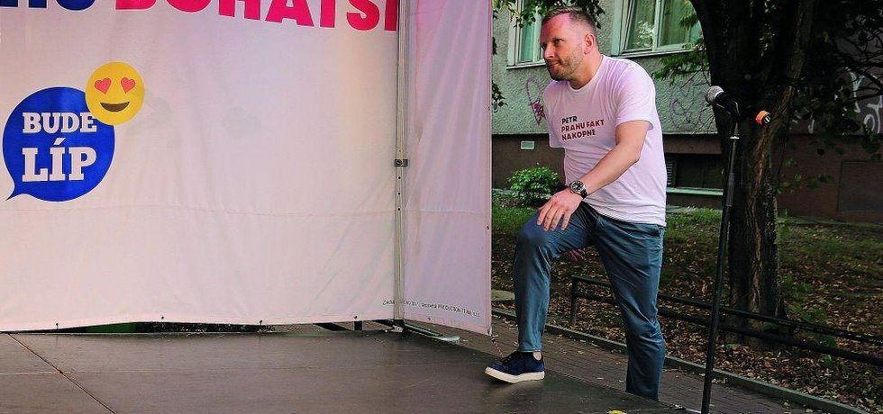 Lídr kandidátky ANO v Praze Petr Stuchlík