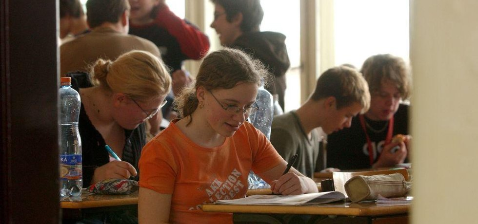Gymnázium v Praze, ilustrační foto