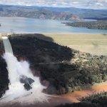 Kalifornská přehrada Oroville, nejvyšší v USA