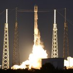 Start rakety Falcon 9 firmy SpaceX