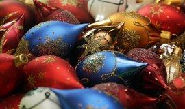 Vánoční ozdoby - ilustrační foto