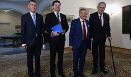 Česko musí být v Evropské unii aktivní, shodli se nejvyšší ústavní činitelé
