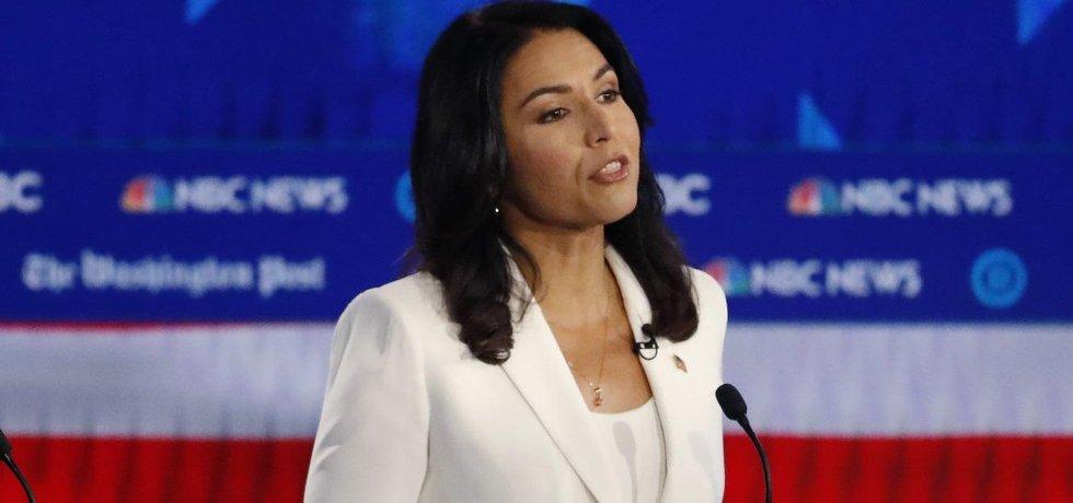 Kandidátka na prezidentku USA Tulsi Gabbardová