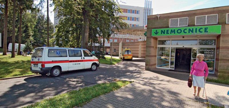 Nemocnice Jablonec.