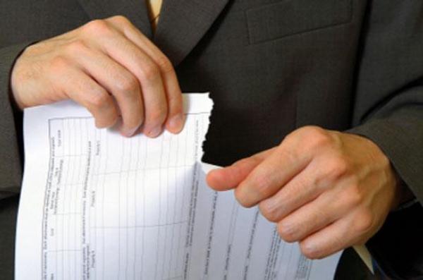roztrhat, dokument, analýza, skartace,papír