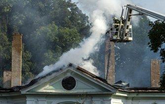 Požár, ilustrační foto
