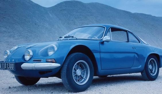 Renault Alpine Sports Coupe Znovuzrozen