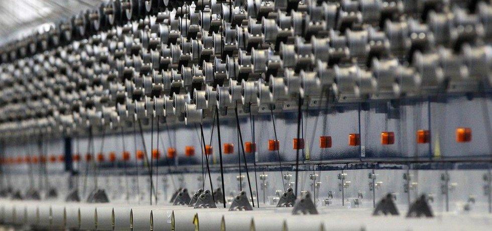 Výroba vlákna, ilustrační foto