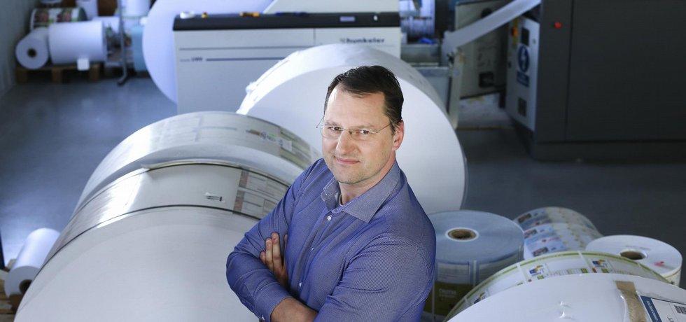 Robert Domnosil, výkonný ředitel a ředitel obchodu ve společnosti Boom Tisk.