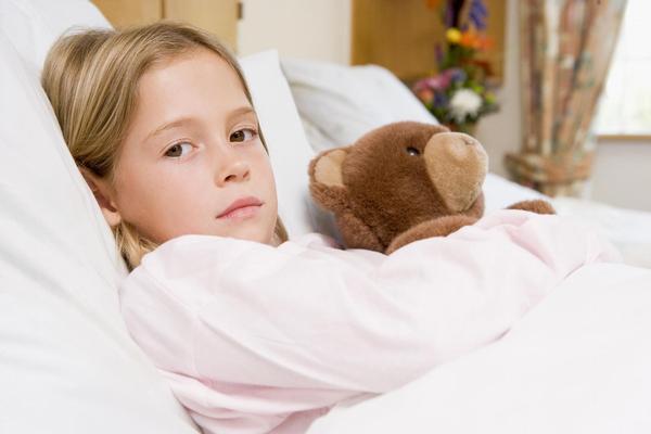 dítě, nemocnice, pokoj