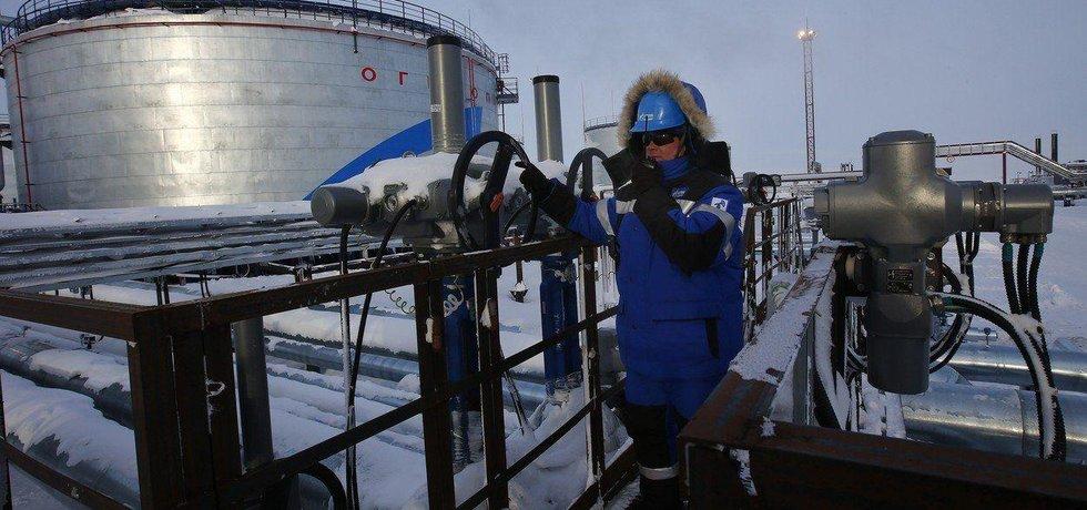 Produkce zemního plynu v Rusku, ilustrační foto
