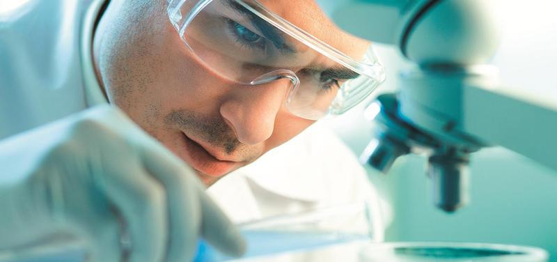 *věda, laboratoř, výzkum, mikroskop