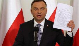 Polský prezident Andrej Duda, ilustrační foto