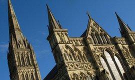 Katedrála v Salisbury, ilustrační foto