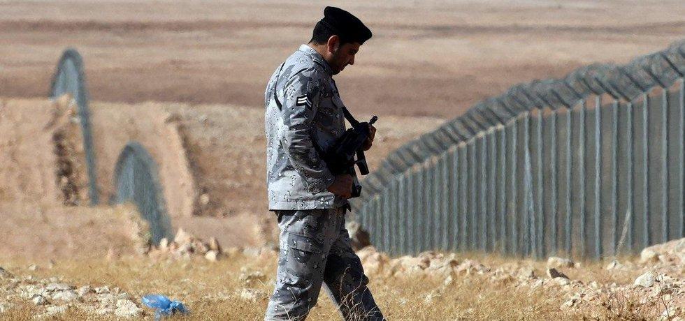 Plot mezi Irákem a Saúdskou Arábií je dlouhý 814 kilometrů.