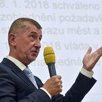 Premiér v demisi Andrej Babiš při přednášce na VŠE