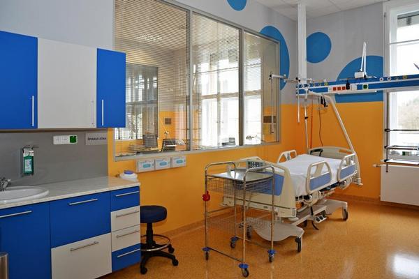 Nová chirurgická JIP v Thomayerově nemocnici